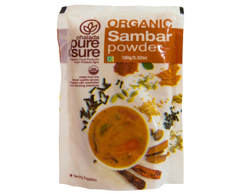 SAMBAR POWDER 100GM by PURE & SURE - Vnya, Of the Wild