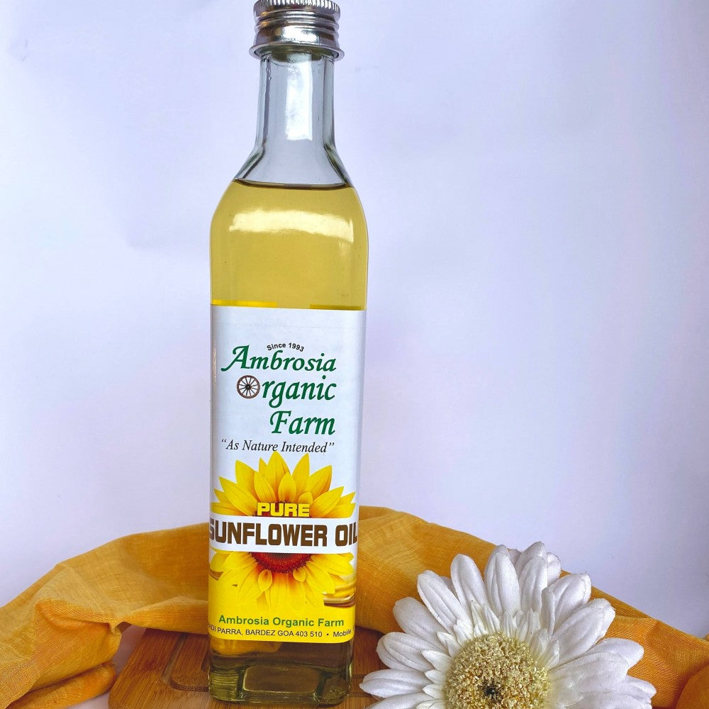SUNFLOWER OIL 450ML by AMBROSIA - Vnya, Of the Wild