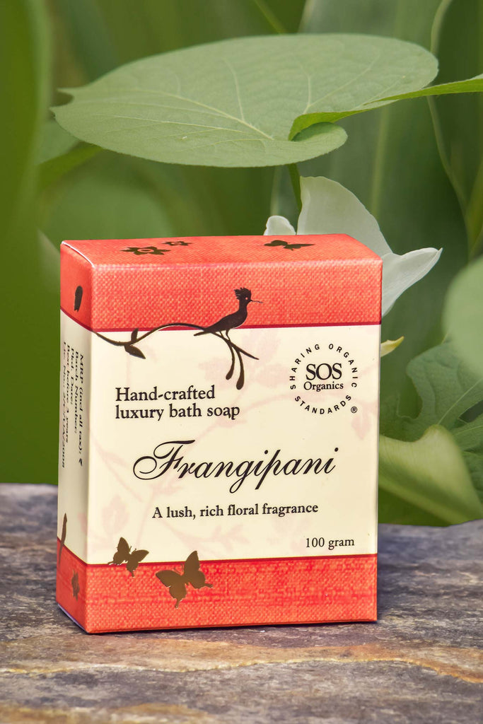 FRANGIPANI SOAP 100GM by SOS - Vnya, Of the Wild