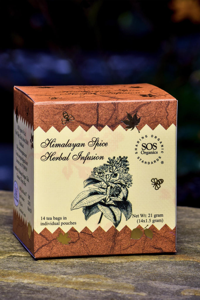 HIMALAYAN SPICE 14 TEA BAGS by SOS - Vnya, Of the Wild