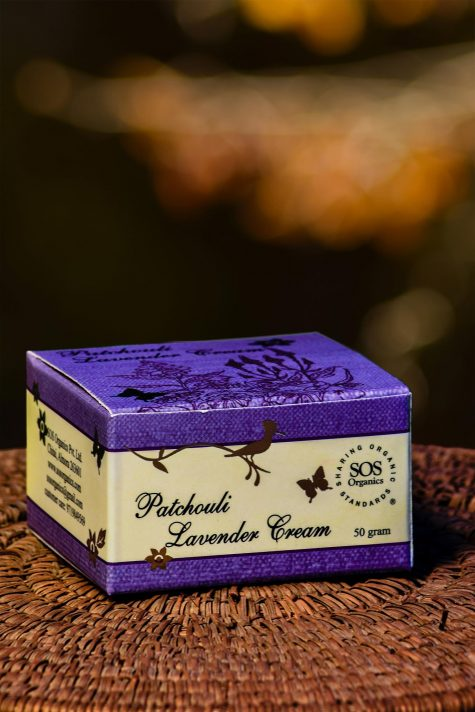 PATCHOULI LAVENDER CREAM 50GM by SOS - Vnya, Of the Wild
