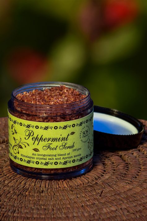 PEPPERMINT FOOT SCRUB 100GM by SOS - Vnya, Of the Wild