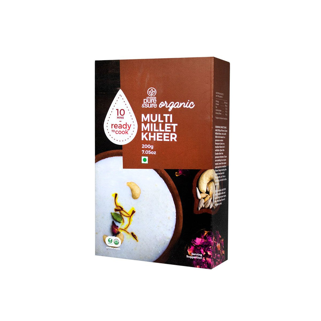 MULTI MILLET KHEER 200GM by PURE & SURE - Vnya, Of the Wild