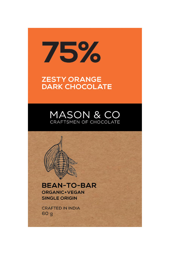 75% ZESTY ORANGE DARK CHOCO by MASON & CO - Vnya, Of the Wild