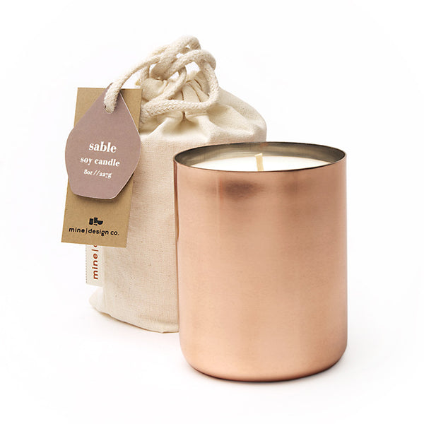 cuivre copper candle