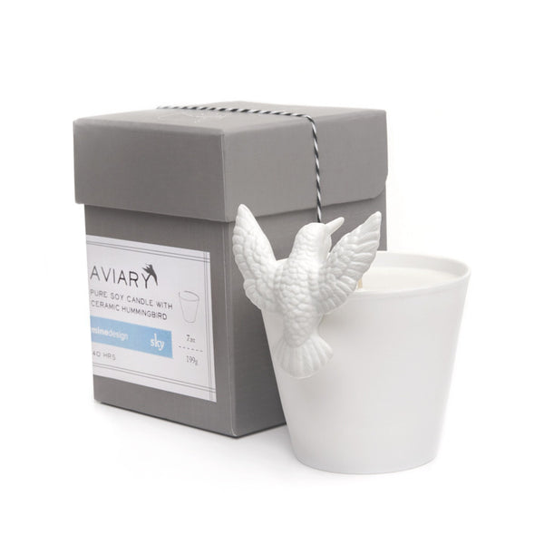 aviary candle | owl