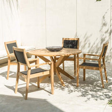 Load image into Gallery viewer, Roble 4-Seater Dining Set