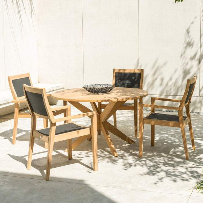 Roble 4-Seater Dining Set
