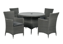 Load image into Gallery viewer, Oxford 4 Seater Carver Dining Set