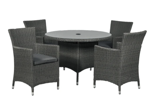 Oxford 4 Seater Carver Dining Set