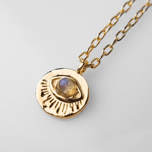 "Collar ""The Gold Eye"""