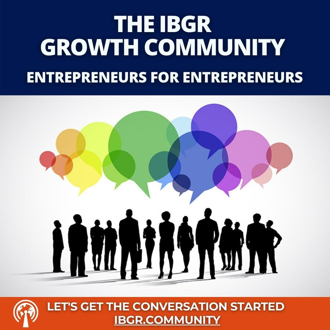 IBGR.Community FREE Membership Entry Level