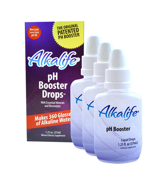 Alkalife® pH Booster Drops (Pack of three)