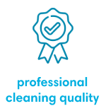 professional cleaning quality