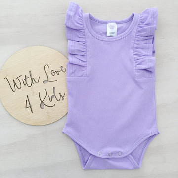 Shimmy Tank Onesie/Top - LILAC