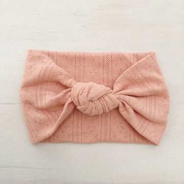 Ballet Knot Headband - CLAY