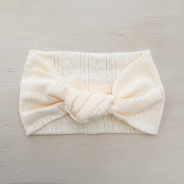 Ballet Knot Headband - CREAM