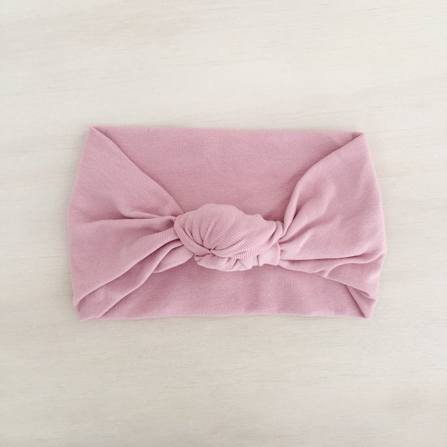 Knot Headband - DUSTY PINK