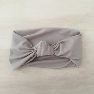 Swimmers Knot Headband - LATTE