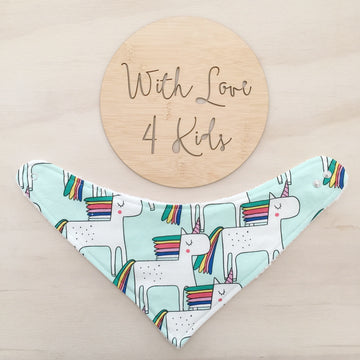 Unicorn Dribble Bib