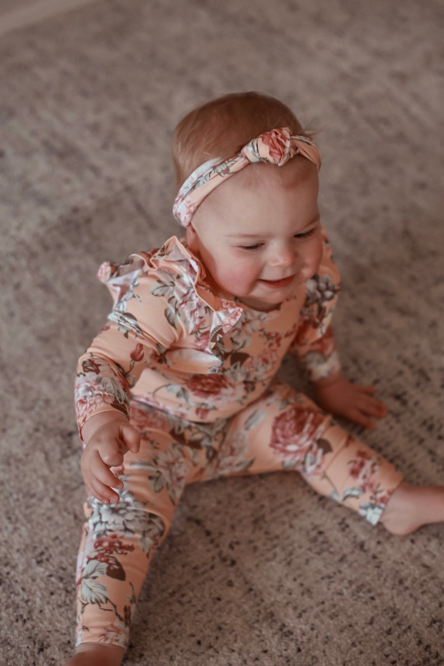 Shimmy Long Sleeve Onesie/Top - MILA
