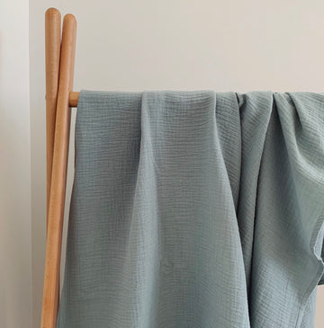 COTTON MUSLIN Wrap - EMERALD SEA