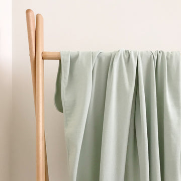 BASICS COTTON RIBBED Wrap - MEADOW GREEN