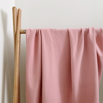 BASICS COTTON RIBBED Wrap - DUSTY PINK