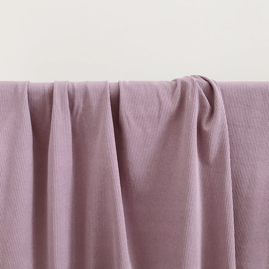 BASICS COTTON RIBBED Wrap - DUSTY PURPLE