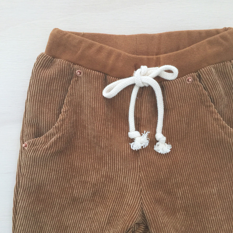 Ollie Cord Pants - TAN