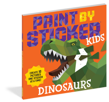 Load image into Gallery viewer, Paint by Stickers Kids: Dinosaurs