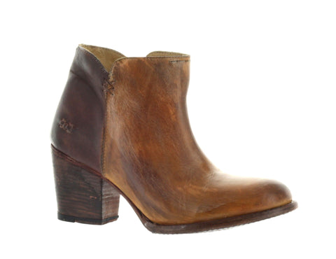 Bed Stu Women's Tan Rustic Yell Bootie US