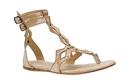 Bed|Stu Amelia Gladiator Nectar Lux Flat Ankle Strap Sandal