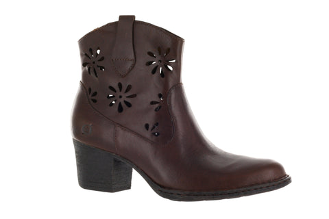 Born Women's Tan Scotch Ivy Ankle Boot US