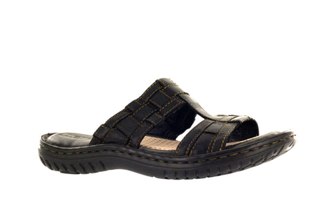 Born Women's Black Teedra Slide Sandal US 8