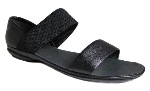 Camper Women's Right Nina Sella Negro Black Open Toe Sandals US 8
