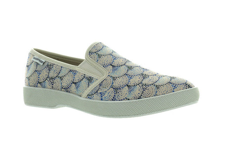 Cougar Women's Parchment Dot Print Lula Fashion Sneaker US 8