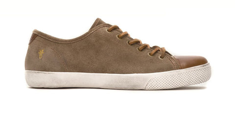 Frye Men's Taupe Chamber Low Cap Fashion Sneaker US 8