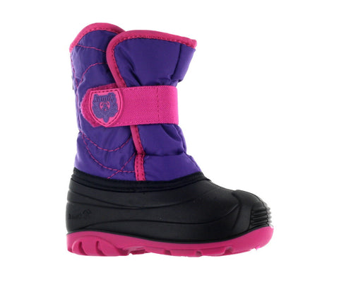 Kamik Kids Purple/Magenta Snowbug 3 Winter Boot US