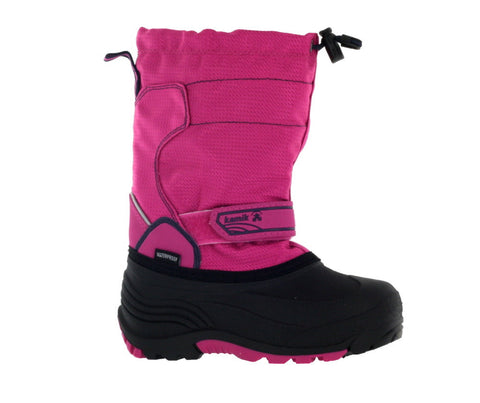 Kamik Kid's Magenta Snowcoast Winter Boot US 12