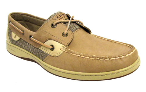 Sperry Women's Linen/Oat Bluefish 2-Eye Boat Shoe US 12