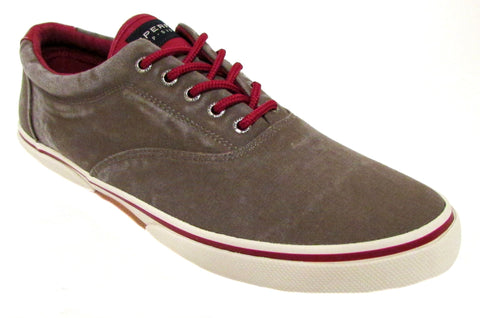 Sperry Men's Halyard LL CVO Brown/Red Fashion Sneaker US