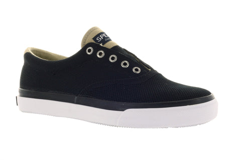 Sperry Men's Striper LL CVO Knit Black Fashion Sneaker US