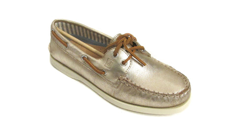 Sperry Women's A/O Metallic 2-Eye Boat Shoes US