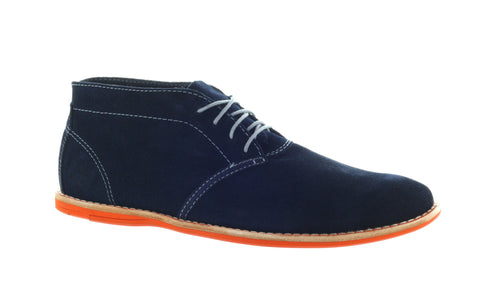 Timberland Men's Navy Earth Keepers Revenia Chukka Shoe US