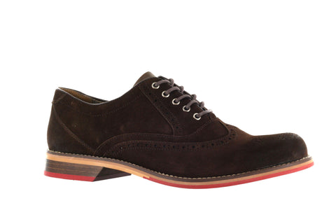 Wolverine Men's Dark Brown Dex Oxford US