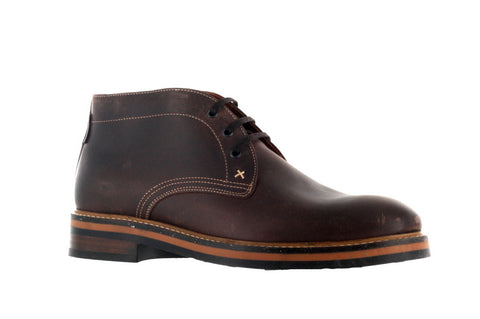 Wolverine Men's Dark Brown Francisco Plain Chukka Boot US 10.5