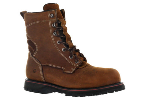 "Wolverine Men's Brown 8"" Malone Work Boot US 11.5"