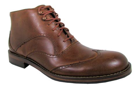 Wolverine Men's Tan Wesley Wingtip Chukka Boot US