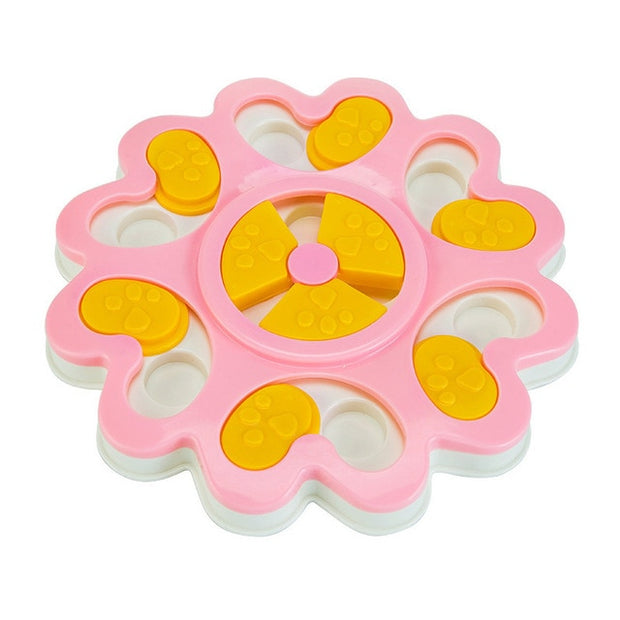 Educational Dog Toys Flower Design Anti Choke - Pet26072020